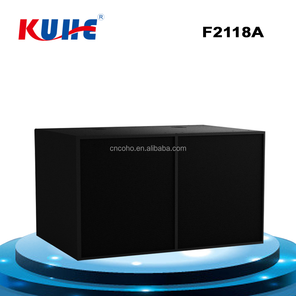 "3-way Speaker Box With 18X2"" / 100mm Speaker Driver In China"