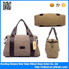 New type canvas women bag best shoulder tote bag vintage travel bag for man