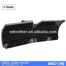 V Shaped Snow Plows Skid Steer Loader
