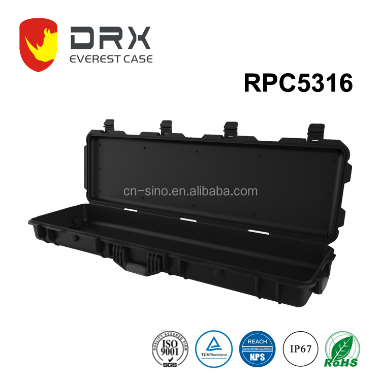 Hard PP plastic long case for gun and rifle