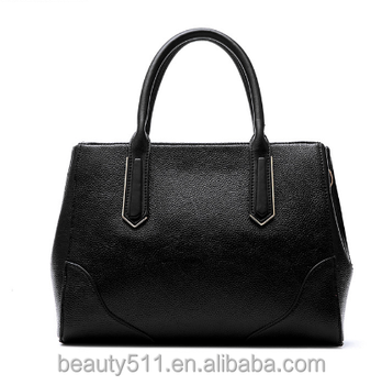 PU leather fashion women bags tote handbag made in China HB55