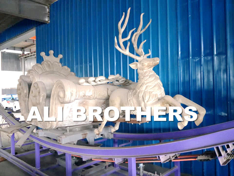[Ali Brothers]Family rides equipment mini flying car park world