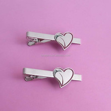2014 New Design Gifts - Males Suit Heart Shaped Logo Design Tie Clip