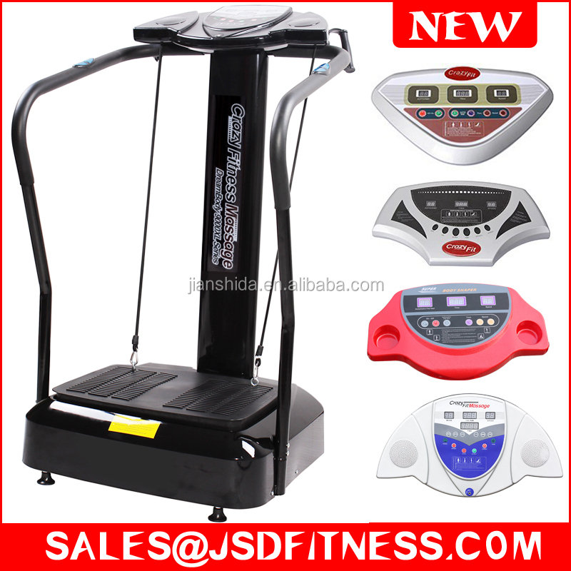 Super Crazy Fit Massager Body Soul Vibration Machine with MP3 player