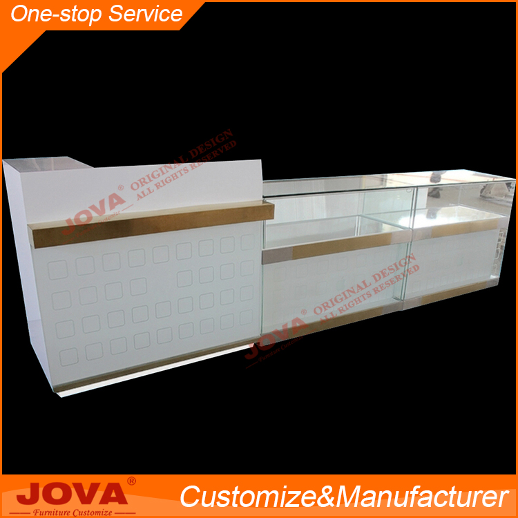 Custom plywood retail accessories glass store mobile cell phone display showcase