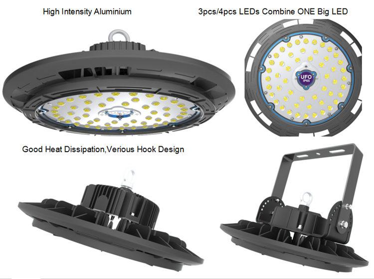 super bright 130lm/w bay light led lamp 250w led high bay light