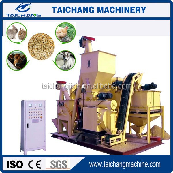 New condition feed pellet making machine manufacture small fodder pellet machine