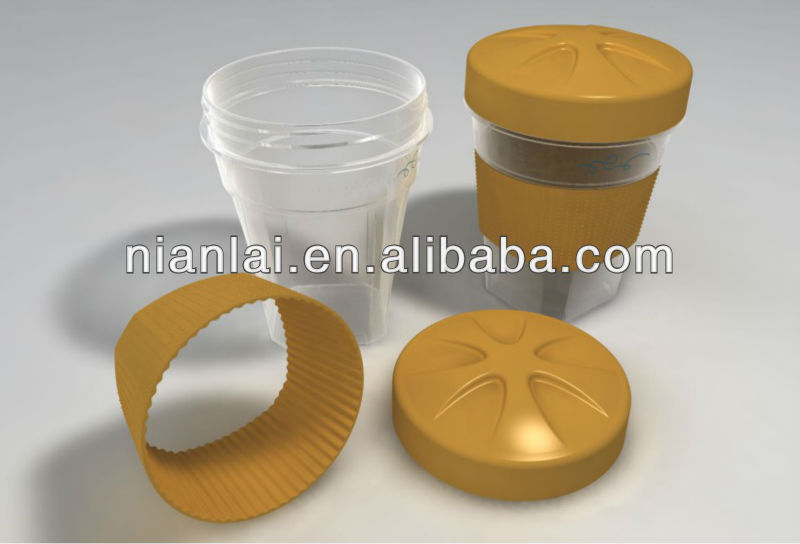 Shanghai Nianlai high-quality customized plastic beverage cup mould/molding