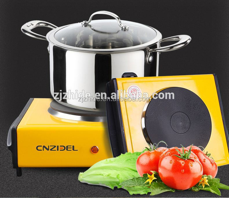 cnzidel A15 approval dc cheap price single electric hot plate stove