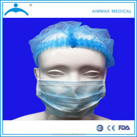 solid face mask,spot weld face mask,surgical disposable face mask