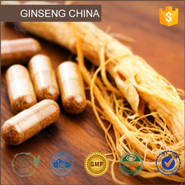 100% Natural Ginseng Oil Ginseng Root Oil Korean Ginseng Extract Capsule Ginsenosides 10-98%