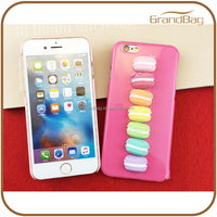 Best selling summer hard plastic cell mobile phone cases for iPhone 6S plus cute candy color phone case for girls
