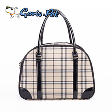 Classic Grid Portable Pet Small Dog Carrier Bags