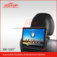 10.1 Inch Full Hd 1080p toyota headrest media player with Android 4.0 System, Capacitive Touch