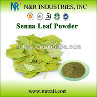 Natural and Pure Plant Powder Senna Powder and Senna Leaf Extract from Senna Leaf