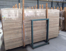 italian silver grey travertine marble tile