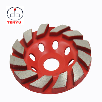 Segmented Turbo Cup Grinding Wheel