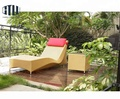 Great Durability Factory Directly Synthetic Rattan Sun Lounger