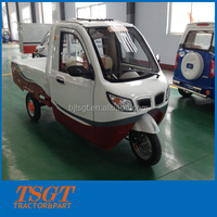 battery operation comfortable driving electric truck 3-wheel tricycle for sale