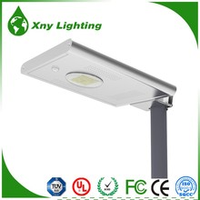 Hot 12w LED Super Bright lithium battery Solar Night Light Yard Street Lamp
