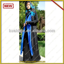 2016 fashion style sexy muslim clothing for lady abaya