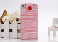Colorful PU&PC case for iphone 5/5s
