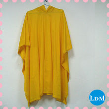 fashion long pvc rain poncho