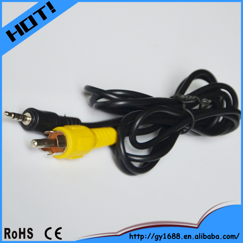 High- end 3.5 audio rca to aux cable