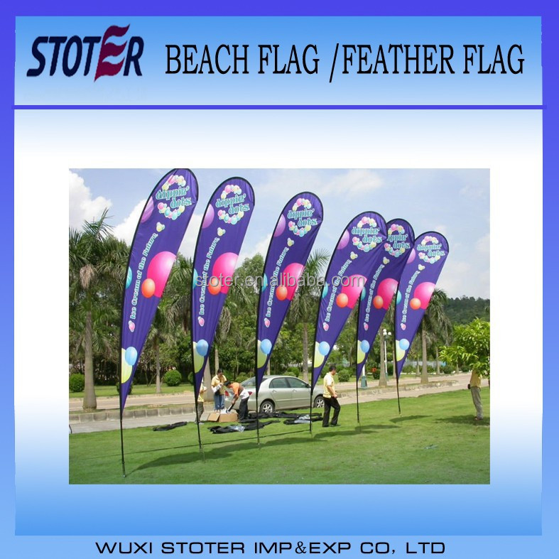 Promotion Teardrop banner flags