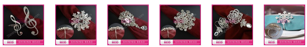 Sparkling jewelry rhinestone connector for headband