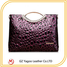 Stone grain chain bags women hand bag 2014 designer