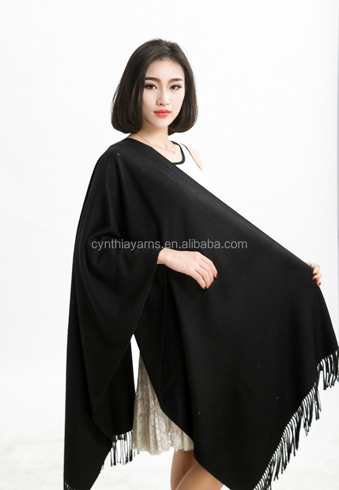 New Design Big Colorful Cashmere Scarf For Women