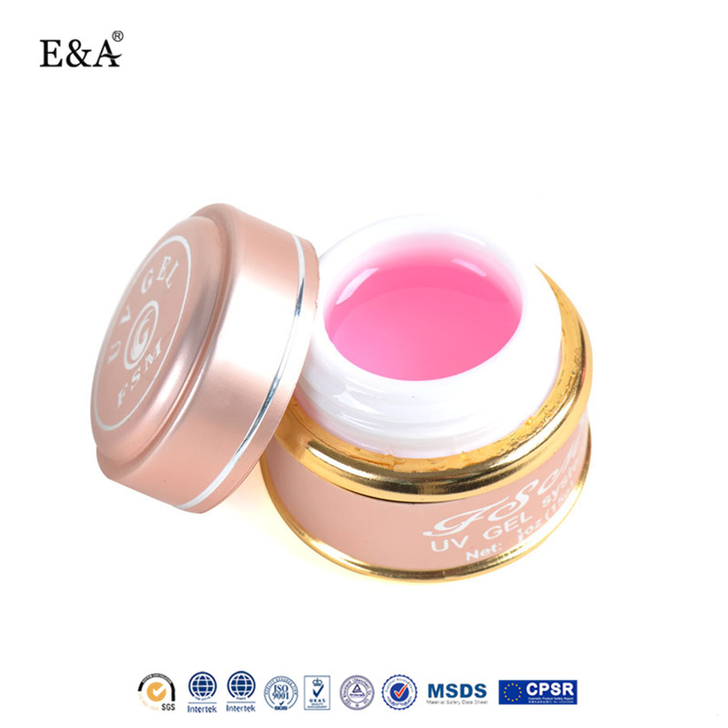 EA free sample camouflage uv gel three basic color for nail tips extension