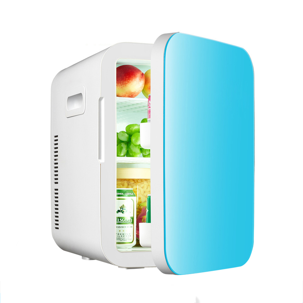 Portable Home Appliance Blue Cover Cosmetic Cheap Mini Refrigerator For Car