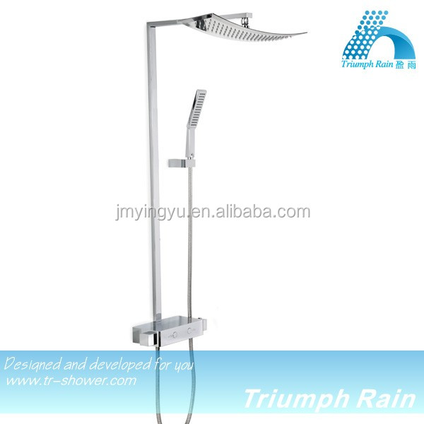Made in Guangdong Good quality brass body bath shower mixer