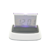 PN-1079 Crystal Clock, Led Digital Countdown Timer Table Clock, Decoration and Gift Clock