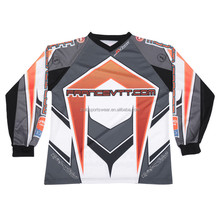 Cool Design Sublimated Mountain Bike Jerseys for Kids