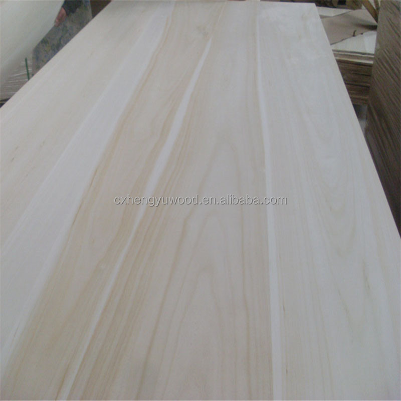 Chinese wholesale wood supplier paulownia solid wood used for decoration home