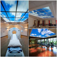American Standard 3 years warranty 60W Blue Sky 2x4 china led panel light for home hospital decoration