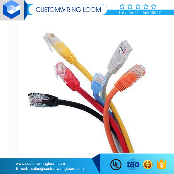 High quality cat6 multi-pair cable with male and female