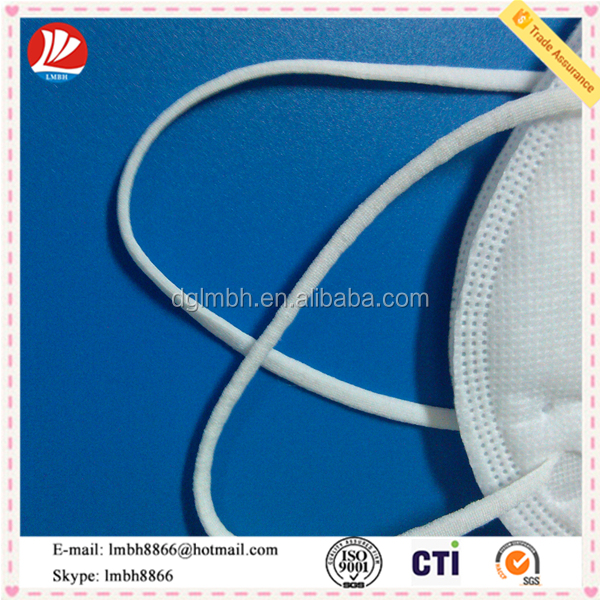 elastic band use as face mask raw material