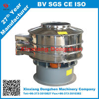 DZ made rotary sieve machine for soil separator