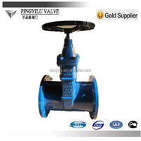 CAST IRON GATE VALVE with EPDM RUBBER RESILIENT SEAT