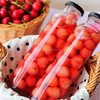 Fresh canned cherry fruit in jar for sale with OEM label