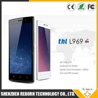 Brand Smart Cell Phone 4G 5 Inch THL L969 FDD LTE MTK 6582M 8G Rom Chinese Brand Mobile Phone Quad Core Phone