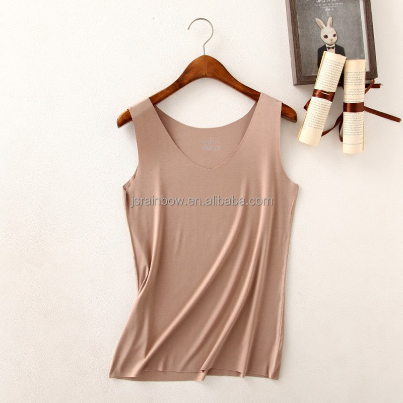 Wholesale Women Sexy <strong>U</strong> Neck & V Neck Yoga Tank Top