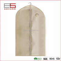 Non-woven suit cover Folding Partial Transparent Suit Coat Dust Cover Storage Bag