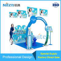 Professional Toilet Paper Arch Display Holder Stand