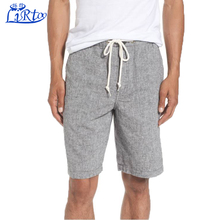 Design cheap linen blank board men sweat shorts pants wholesale