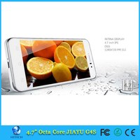 "4.7"" IPS Jiayu G4S Mobile phone MT6592 Octa Core 3MP Camera RAM 2GB ROM 16GB WCDMA"
